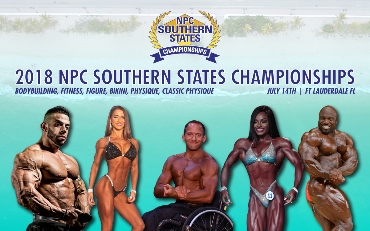 2018 Guest Posers | NPC Southern States Championships