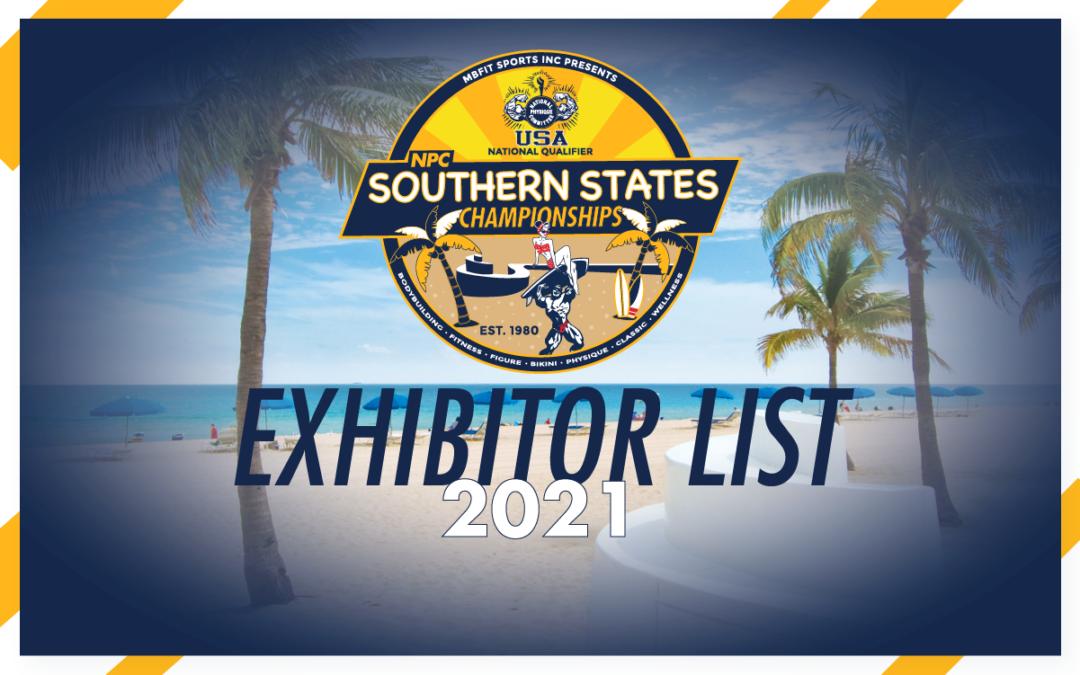 2021 Exhibitor List