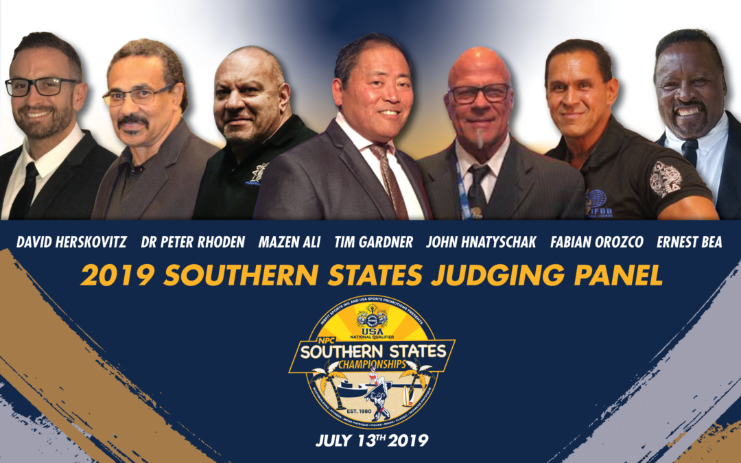 2019 Judging Panel