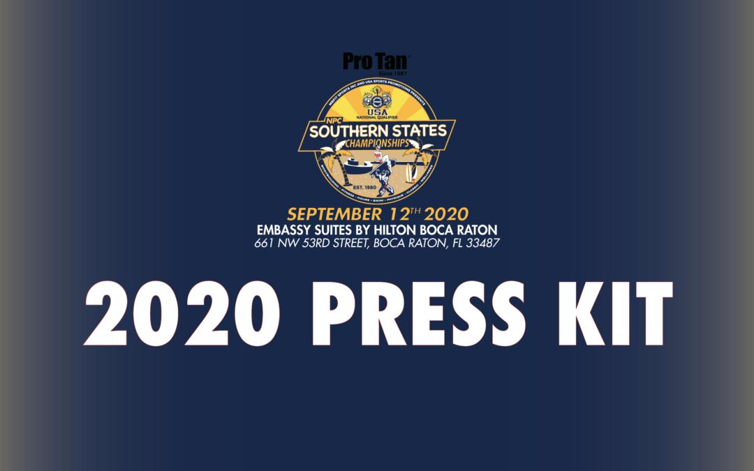 2020 Press Kit